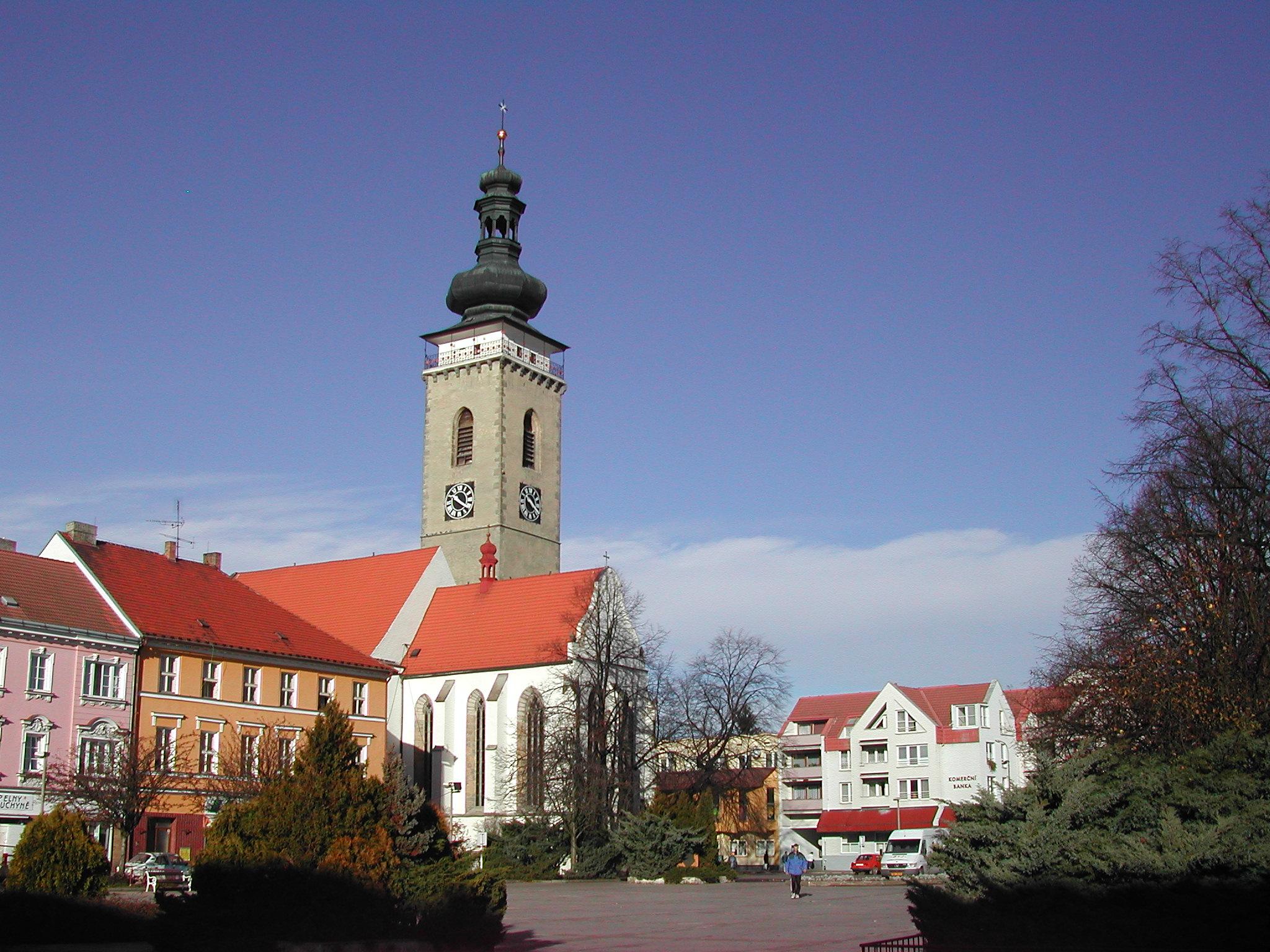 Centrum města Soběslav - ubytování v apartmánu